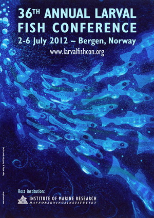 Annual larval fish 2012